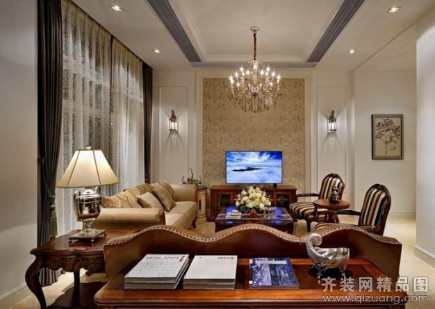 南京意柏年装饰欧式古典错层欧式风格装修效果图