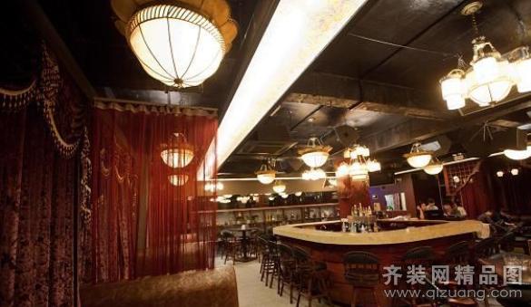 欧式风格酒吧装修效果图