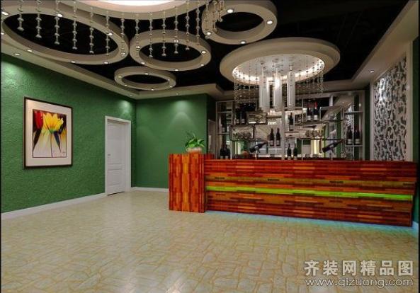 欧式风格饭店装修效果图图片