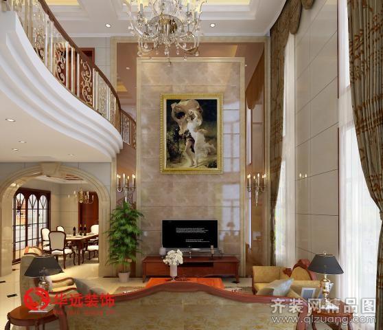 【绿城玉兰公寓欧式风格装修效果图图片】装修图片