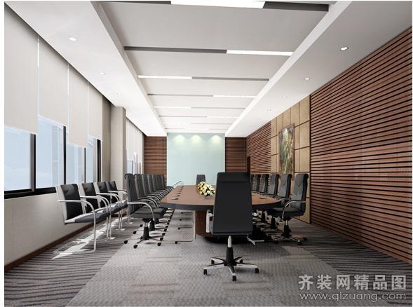 培训教育公司办公室室装修效果图 城起装修效果图