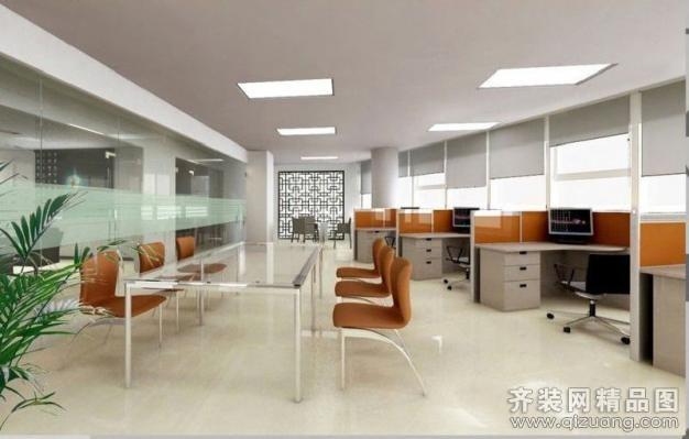 久典装饰外贸公司办公室现代简约装修效果图