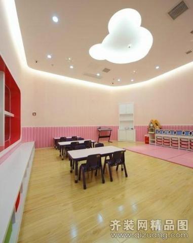 品亚装饰幼儿园现代简约装修效果图图片