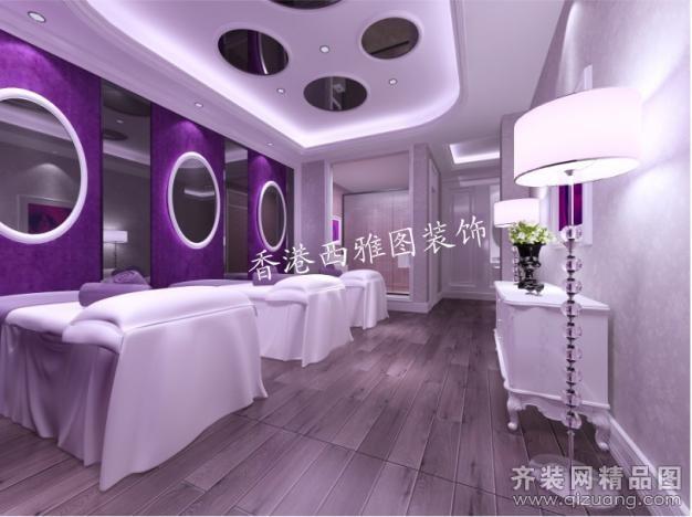 荥阳整形医院十室五厅五卫装修案例效果图 780平米设计