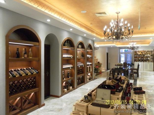 青岛森林树装饰红酒专卖欧式风格装修效果图
