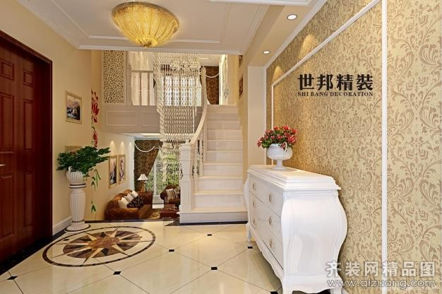 杭州世邦装饰罗兰春天欧式风格装修效果图
