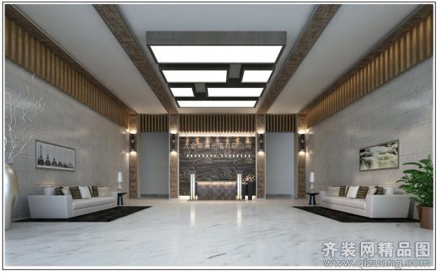 苏州金诺装饰办公楼欧式风格装修效果图图片