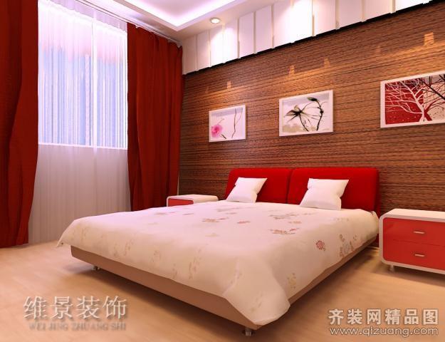 房屋装修深红色的门搭配什么家具合适