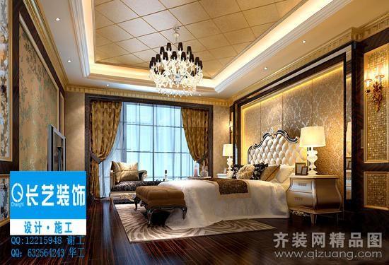 厦门长艺装饰禹州城上城欧式风格装修效果图2013