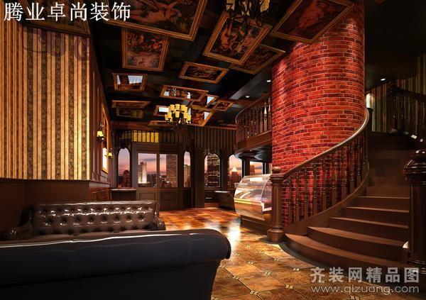 温州腾业装饰南浦酒吧现代简约装修效果图