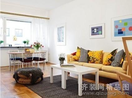 欧式横厅客厅风格装修图片