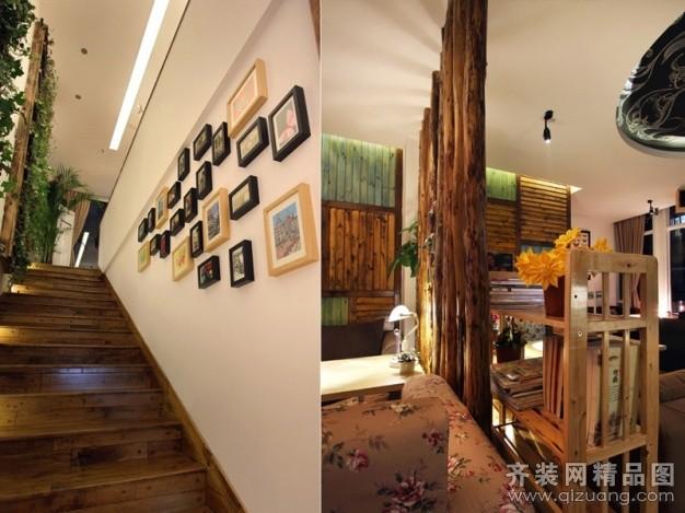 德隆装饰台东咖啡厅欧式风格装修效果图2013图片