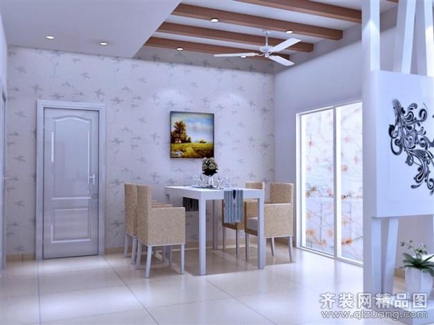 元素空间滨州-医院小区宿舍现代简约装修效果图2010