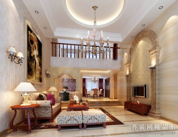 家艺装饰欧式风格现代简约装修效果图图片