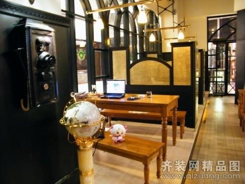 申远空间装饰啤酒馆欧式风格装修效果图