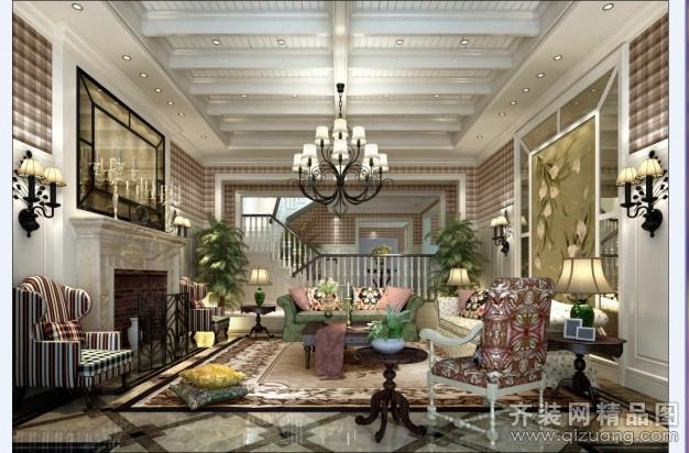 苏州金诺装饰现代园墅英伦风格欧式风格装修效果图