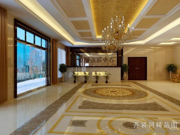 扬州鑫光装饰皇塘洗浴中心欧式风格装修效果图图片