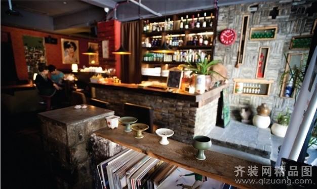 温州旭升装饰小资生活咖啡厅古典风格装修效果图