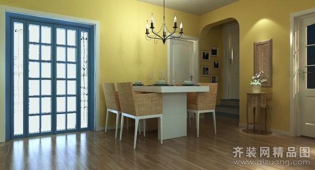 西安双城装饰欧式地中海银领花园地中海风格装修效果