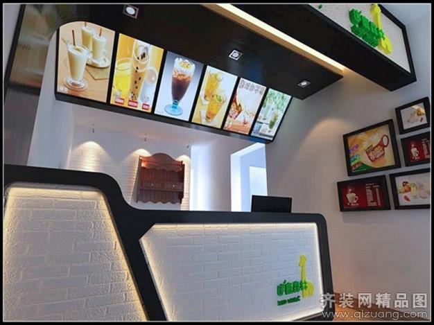 奶茶店 房屋类型:店面/商铺/厂房装修