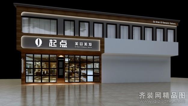 苏州阿卡莫建筑装饰美容美发店设计欧式风格装修效果