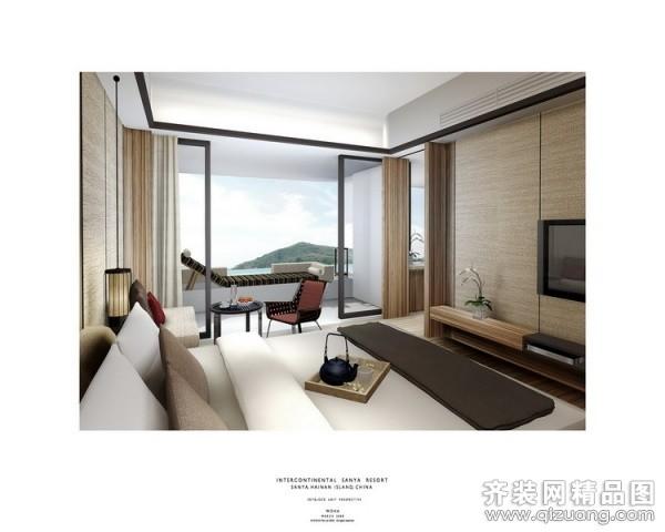 大班设计三亚酒店地中海风格装修效果图2009