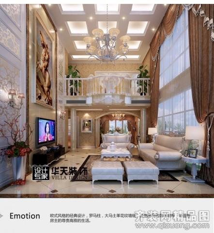 华天装饰设计马山私房别墅欧式风格装修效果图