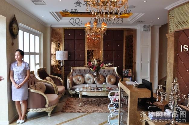 金木源装饰美容院欧式风格装修效果图图片