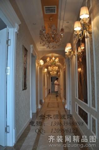 金木源装饰美容院欧式风格装修效果图