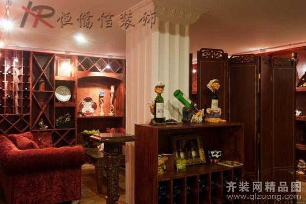 恒儒信装饰欧式小酒吧欧式风格装修效果图2012