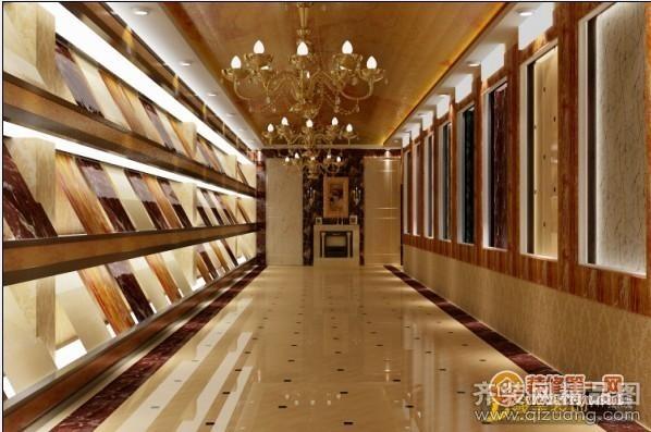 河南羲皇装饰新乡地砖展厅欧式风格装修效果图