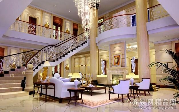 南通欧品装饰通州自建别墅欧式风格装修效果图
