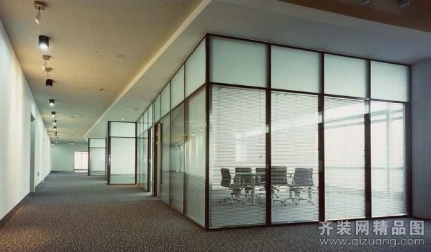 美沃玻璃隔断墙美沃工程图现代简约装修效果图