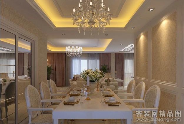 朗特装饰中国国际服装城欧式风格装修效果图2013