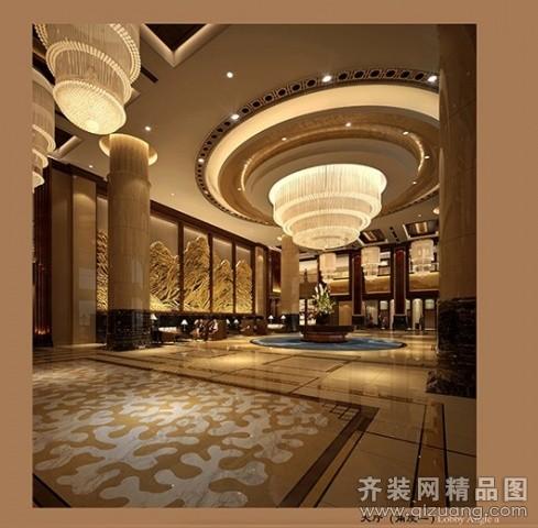 温州旭升装饰豪华酒店设计欧式风格装修效果图