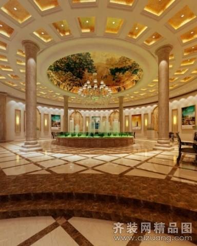苏州金诺装饰外企办公大楼欧式风格装修效果图
