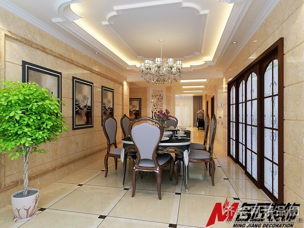 房屋面积:180平米 装修类型:家装图片