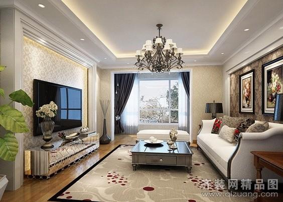 大德尚宅装饰现代欧式设计图现代简约装修效果图
