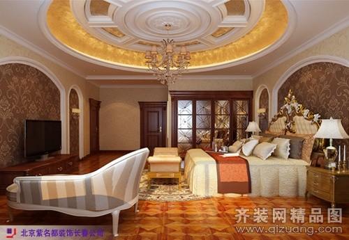 长春紫名都装饰和记黄埔御翠园别墅欧式风格装修效果