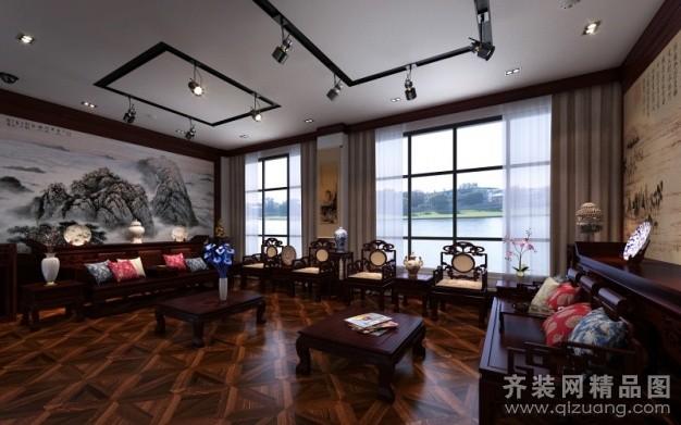 苏州金诺装饰红木家居博览中心中式风格装修效果图