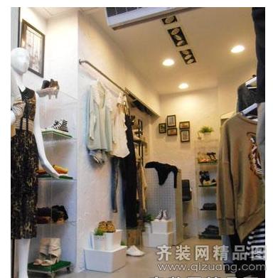 苏州金砖石装饰服装店现代简约装修效果图