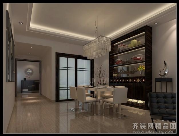 韶关名匠设计中心盈翠皇庭中式风格装修效果图2014