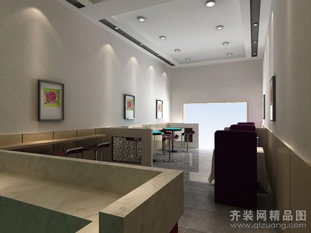 设计说明 奶茶店 整套大图展示 八六装饰网装修效果图库