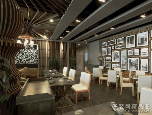 蘇州中朗御尚建筑裝飾錦道川菜館現代簡約裝修效果圖
