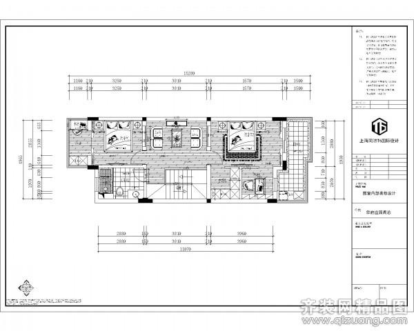 同济t6国际设计【华府庄园平面布局和原始图欧式风格装修效果图图片】图片
