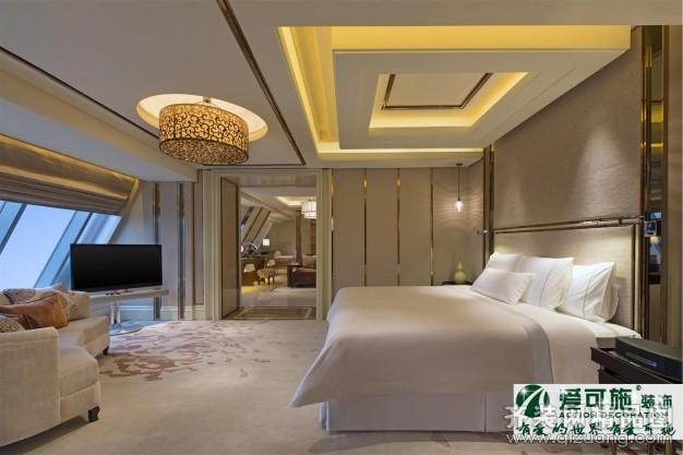 爱可施装饰旅馆案例欧式风格装修效果图2014