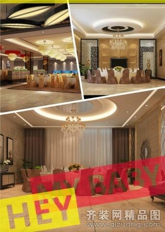 琥珀设计南京饭店现代简约装修效果图