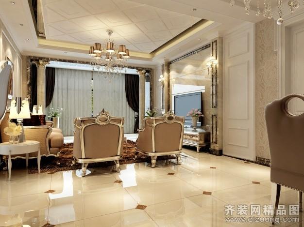南通大木装饰金沙金色成邦欧式风格装修效果图