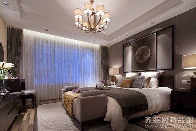 吴江阔达装饰瑞景国际中式风格装修效果图