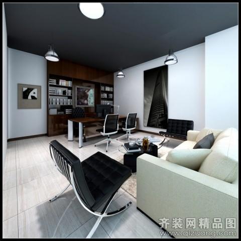 温州旭升装饰办公室装修现代简约装修效果图